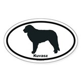 KUVASZ Oval Sticker (10 pk)