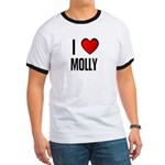 I LOVE MOLLY Ringer T