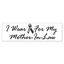 I Wear Black For My Mother-In-Law 1 Bumper Sticker