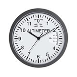 Altimeter Wall Clock