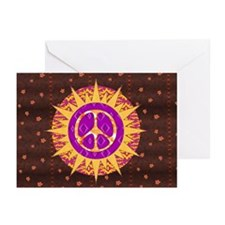 Peace Sun Star Greeting Cards (Pk of 20)