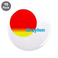"Braylon 3.5"" Button (10 pack)"