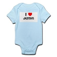 I LOVE JAZMIN Infant Creeper
