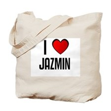 I LOVE JAZMIN Tote Bag