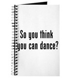 so u think u can dance Journal