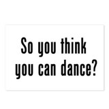 so u think u can dance Postcards (Package of 8)