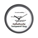 Catahoula Life Wall Clock