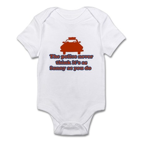 Funny Police Infant Bodysuit