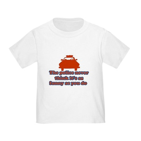 Funny Police Toddler T-Shirt
