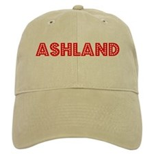 Retro Ashland (Red) Baseball Cap