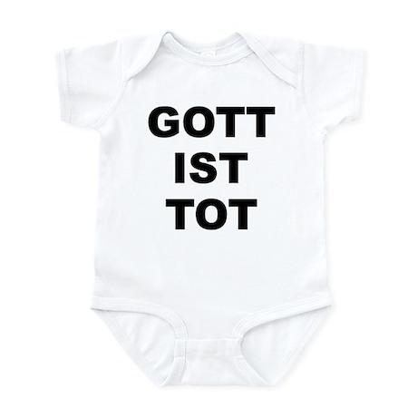 GOTT IST TOT Infant Bodysuit