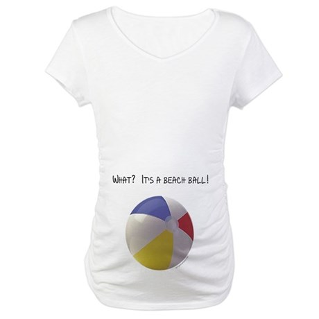 It's A Beach Ball Maternity Shirt