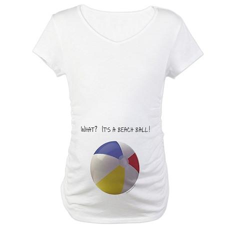 It's A Beach Ball Maternity Shirt