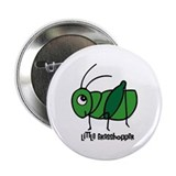 "Little Grasshopper 2.25"" Button"