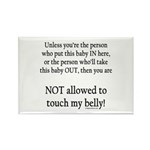 Not allowed Rectangle Magnet (10 pack)