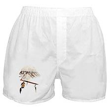 Running Wolf Boxer Shorts