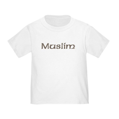 Vintage Muslim Toddler T-Shirt