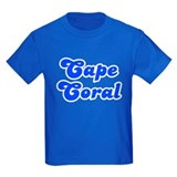 Retro Cape Coral (Blue) T