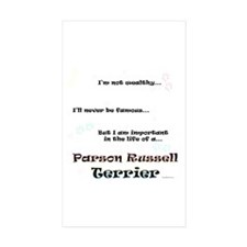Parson Life Rectangle Sticker 50 pk)