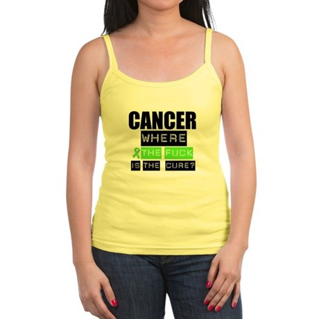 Cancer Cure Lymphoma Jr. Spaghetti Tank