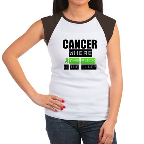Cancer Cure Lymphoma Women's Cap Sleeve T-Shirt