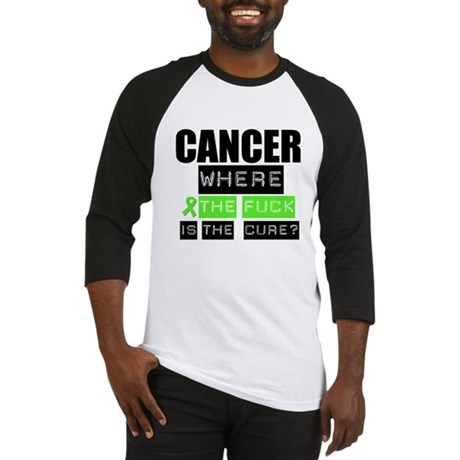 Cancer Cure Lymphoma Baseball Jersey