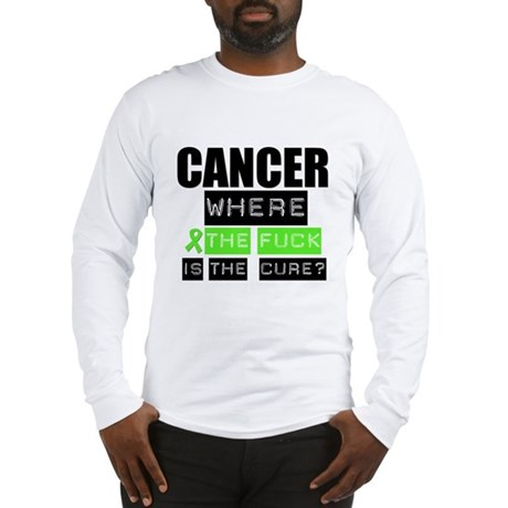 Cancer Cure Lymphoma Long Sleeve T-Shirt