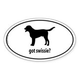 Got Swissie? Oval Decal
