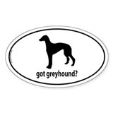 Got Greyhound? Oval Decal