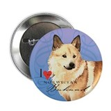 "Norwegian Buhund 2.25"" Button"