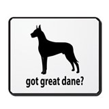 Got Great Dane? Mousepad