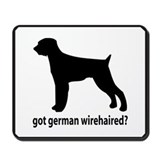 Got German Wirehaired? Mousepad
