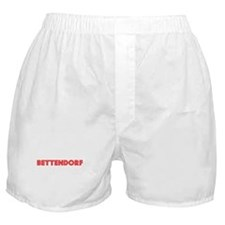 Retro Bettendorf (Red) Boxer Shorts