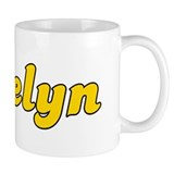 Retro Jaelyn (Gold) Small Mugs