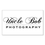 Uncle Bob Photography Rectangle Sticker 50 pk)