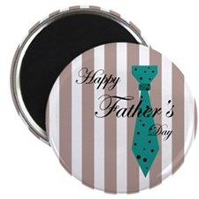 Happy Father's Day Tie 1 Magnet