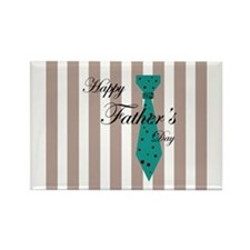 Happy Father's Day Tie 1 Rectangle Magnet