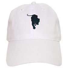 Sleek Panther Baseball Cap