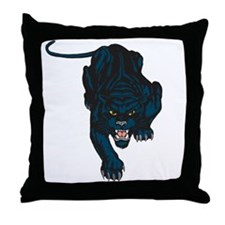 Sleek Panther Throw Pillow