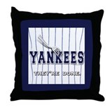 The Yankees... Throw Pillow