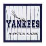 The Yankees... Tile Coaster