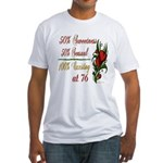 Exciting 76th Fitted T-Shirt
