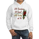 Exciting 76th Hooded Sweatshirt