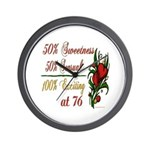 Exciting 76th Wall Clock