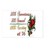 Exciting 76th Postcards (Package of 8)