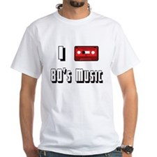 I love 80's Music Shirt