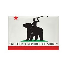 California Republic of Shinty Magnet
