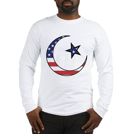 American Muslim Long Sleeve T-Shirt