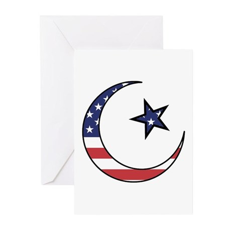 American Muslim Greeting Cards (Pk of 10)