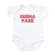 Retro Buena Park (Red) Infant Bodysuit